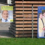 FDP-Plakat in Wildenloh